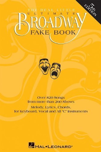 Book Fake Ultimate Broadway - The Real Little Ultimate Broadway Fake Book (October 1, 1997) Plastic Comb