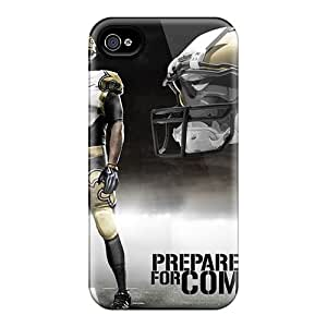 Iphone 4/4s GUX800rECs Provide Private Custom Nice New Orleans Saints Image Durable Hard Phone Case -ZachDiebel