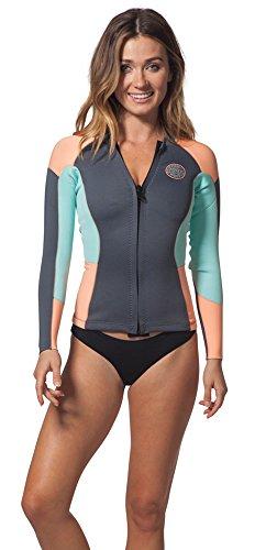 Rip Curl Wmns.D/Patrol Long sleeve Jacket sauna-suits, Peach, 6 For Sale