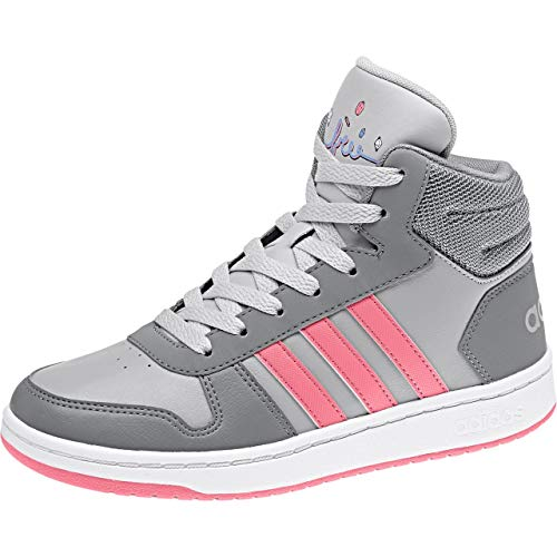 Gris Mixte De Hoops gritre 0 2 Adulte K rostiz 000 Adidas gridos Mid Chaussures Fitness xTAq1xv8