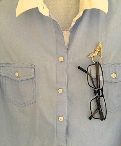 de de magnéticas lectura gafas clip magnético cordón para dorado sol de Soporte broche gafas cadena gafas gafas porta aqxZHEIH