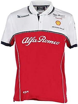 FCA Alfa Romeo Racing F1 Polo Tejido técnico Talla XL 6002350710 ...