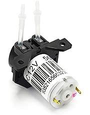 Gikfun 12V DC Dosing Pump Peristaltic Dosing Head with Connector for Arduino Aquarium Lab Analytic DIY AE1207A