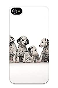 Cute High Quality Iphone 4/4s Eight Cute Daintiness Puppy's Case Provided By QueenVictory