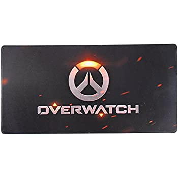 24x12 Inch Overwatch Speed Soft Gaming Mouse Pad for Gamers Waterproof ¡­