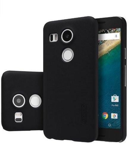 Nillkin Nexus 5 x - Shield de Black Super Mate Carcasa para ...