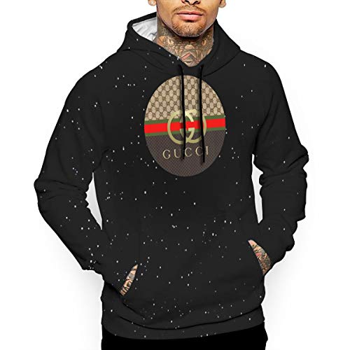 ZHAng Cap Men's Pullover Hoodie Long Sleeve Hooded T-Shirt Slim Fit Sweatshirt with Pocket White
