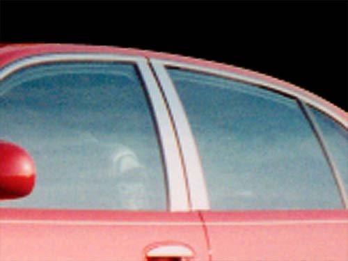 Buick Park Avenue 4 Piece - PARK AVENUE 1997-2005 BUICK (4 Pc: Stainless Steel Pillar Post Trim Kit , 4-door) PP37580:QAA