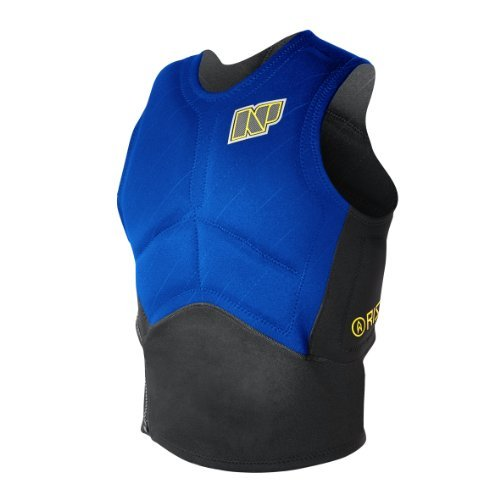 NP Surf Rise Side Zip Impact Vest Blue/Black Small [並行輸入品]   B077QG5FX2