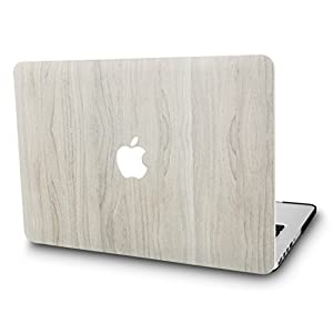 KEC MacBook Pro 13 Case 2017 & 2016 Plastic Hard Shell Cover A1706 / A1708 with/without Touch Bar (Pine Wood 2)