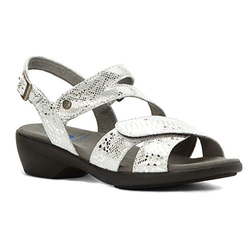 Leather Wolky Off Shoes Silver White Molly Comfort Court Bond TwTxq6a4