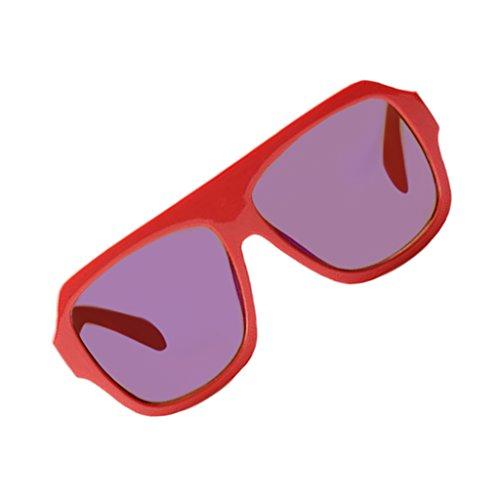 Retro Gafas Deporte Ciclismo MagiDeal Bloque Al para de Sol Helm Libre Aire Sunglass jacinto Crema de 56dwdxvq1