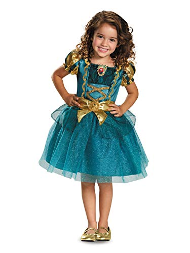 Merida Toddler Classic Costume, Large (4-6x) -