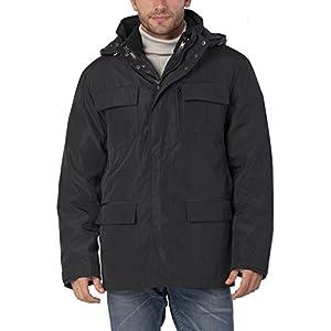 BGSD Men's Peter 3-in-1 Waterproof Hooded Down Parka Coat