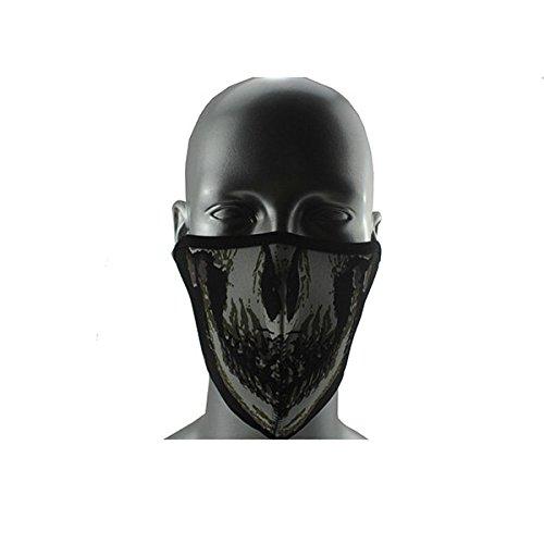 Neolifu (Ship from US) Bicycle Face Mask Veil Guard CS Face Shield Outdoor Cycling Mask Bike