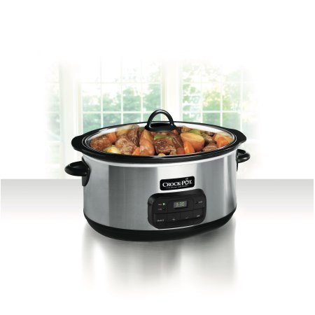 Crock-Pot 8-Quart Programmable Slow Cooker bybCrock-Pot