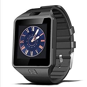 Qiufeng DZ09 Smart Watch Smartwatch Bluetooth Sweatproof Phone with Camera TF/SIM Card Slot for Android and IPhone Smartphones for Kids Girls Boys Men Women