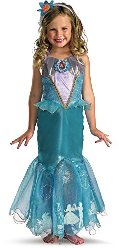 Storybook Ariel Prestige Costume - (Spirit Halloween Disney Princess)