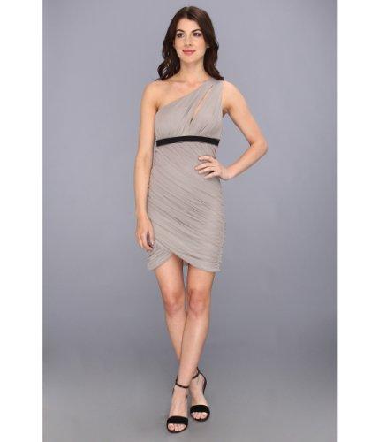 BCBGMAXAZRIA BCBG Ruched One Shoulder Dress (XXS (US 0))