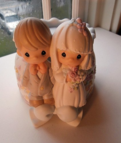 (Precious Moments Wedding Unity Candle Holder (2000))