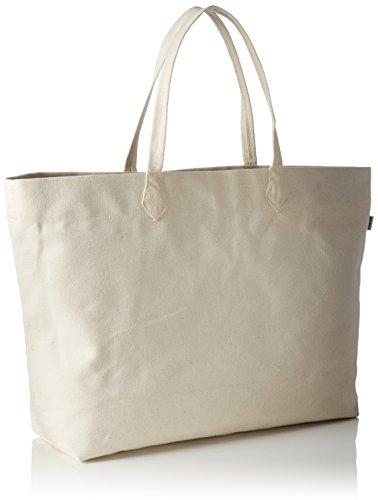Kamoa Tscalifornia White, Borsa shopper Donna, Bianco (Bianco), 23x15x6 cm (B x H x T)