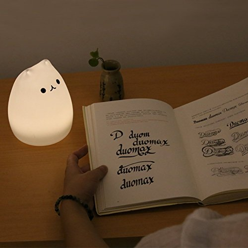 Emoova Night Lights For Kids 3 Modes Portable Silicone