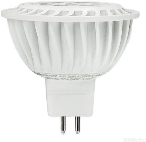 50W Equiv. Beam 25 Deg GU5.3 7W Dimmable 525 Lm. Green Creative 7MR16G3DIM//830NF25 MR16 LED Bulb 3000K