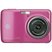 GE C1433 14MP Digital Camera - Pink