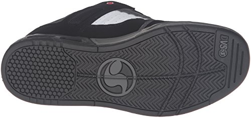 Zapatos DVS Enduro Heir Negro-rojo-gris BLACK/RED/GRAY