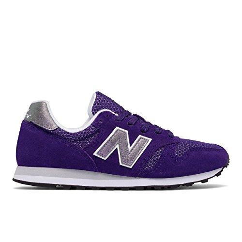 New Balance - Zapatillas de Piel para mujer azul Bianco 37.5