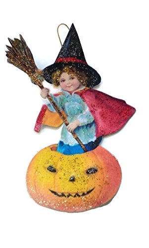 Halloween Ornament Decoration Sweet Little Witch -