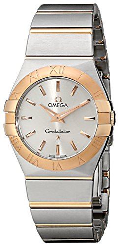 Omega Womens 123.20.27.60.02.001 Silver Dial Constellation Watch