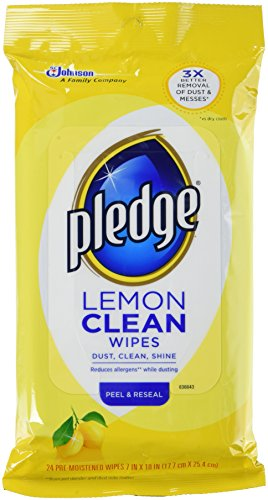 Lemon Pledge Wipes
