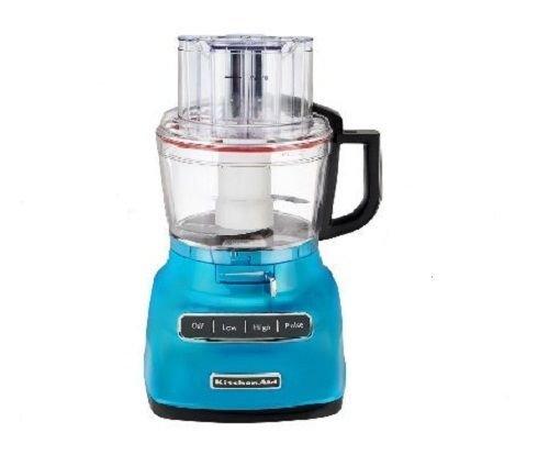 kitchen aid blue food processor - 3