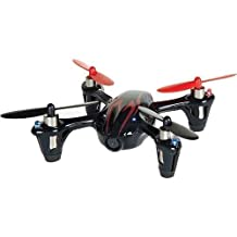 Hubsan X4 (H107C) 4 Channel 2.4GHz RC Quad Copter with Camera, Red/Black