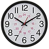 Chaney Instruments 14-Inch Wall Clock with Set & Forget Technology Review