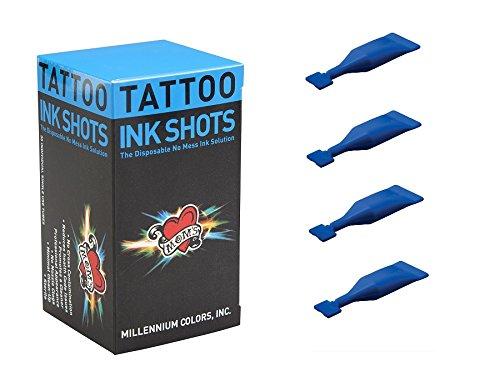 Millennium Ball - 30 Blue Balls Ink Shot, Millennium Moms Tattoo Ink Shot