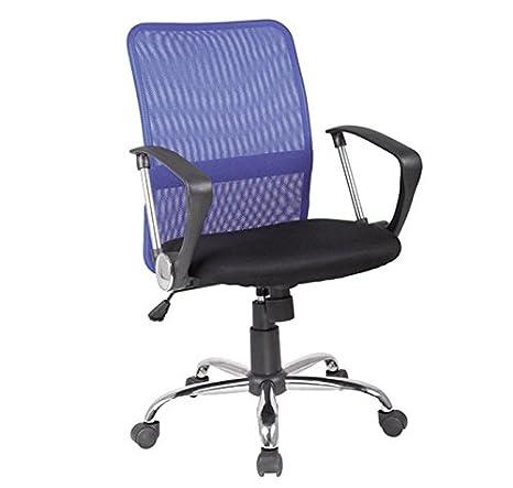 muebles bonitos - Silla de Oficina Canfranc Color Azul: Amazon.es: Hogar