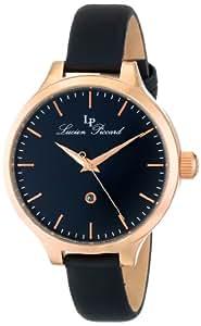 Lucien Piccard Women's LP-12917-RG-01 Lleida Analog Display Japanese Quartz Black Watch