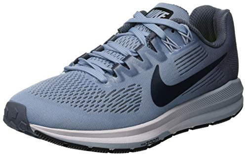 NIKE Women's Air Zoom Structure 21 Running Shoe Armory Blue/Armory Navy-cirrus Blue