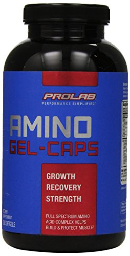 PROLAB Amino GEL-CAPS, 200-Count ()