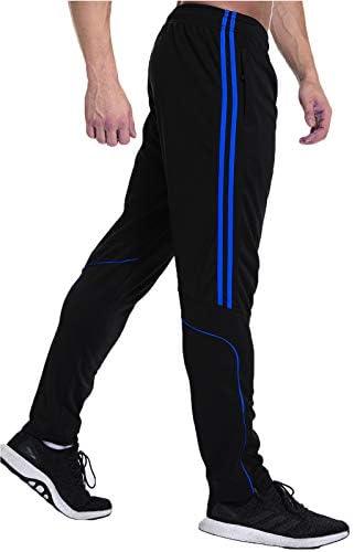 FITTOO Pantalones Deportivos para Hombre Mallas de Fitness Elásticos y Transpirables 3