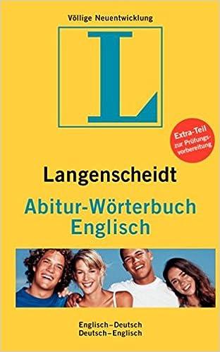 langenscheidt abitur wrterbuch englisch englisch deutsch deutsch englisch amazonde bcher - Lebenslauf Englisch Ubersetzung