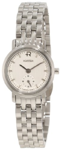 Roamer of Switzerland Women's 931855 41 15 90 Odeon 24mm Silver Dial Stainless Steel Watch