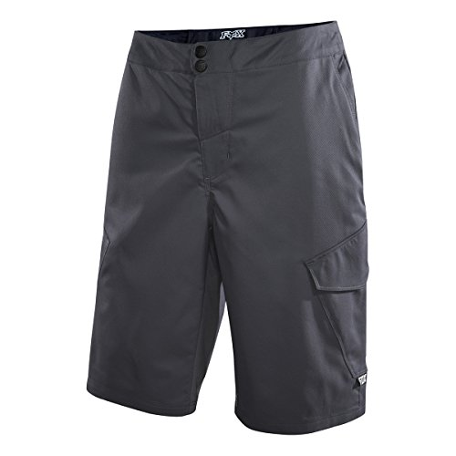 Fox Men's Ranger Cargo 12-Inch Shorts, Charcoal, 30
