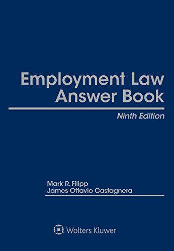 Employment Law Answer Book