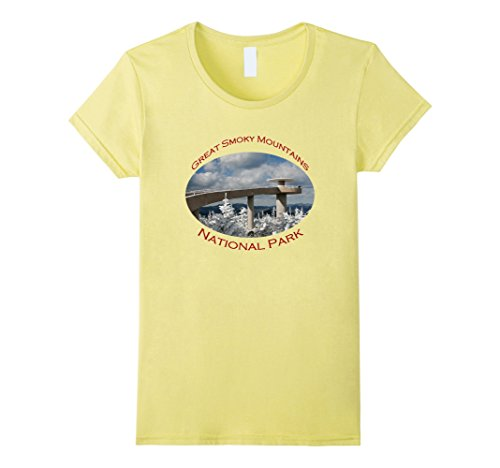 Womens Great Smoky Mountains National Park, Clingmans Dome XL - Clingmans Dome
