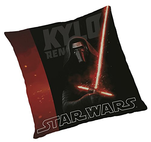 Global Labels G 104 950 SW16 100 Star Wars Kylo Ren Kissen, Polyester 40 x 40 cm