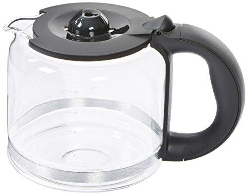 (Krups XB100B50 10-Cup Glass Carafe, Carbon Grey)