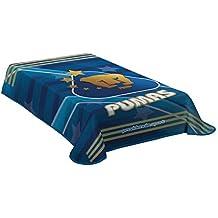 Pumas de La UNAM Logo Twin Size Blanket New in Original Package Made In Mexico
